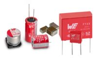 **-Conrad Business Supplies first to stock Würth Elektronik's entire portfolio of capacitors