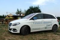 **--elektromobilMercedes-BenzBED-přes200kmnajednonabití!