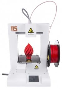 **-New affordable professional-quality RS-branded 3D printer accepts multiple filament materials for rapid prototyping