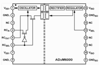ADUM6000 - Isolated, 5 kV, DC/DC Converter