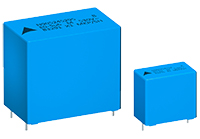 **-A new series of film capacitors from TDK for EMI suppression in X1 circuits is now available through TTI, Inc.